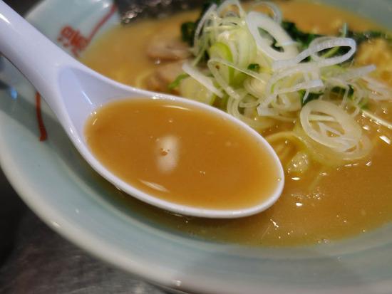 雪濃湯のスープ