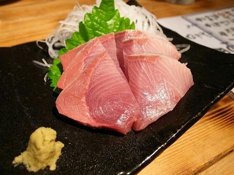 鰤刺身@魚魚(立川)