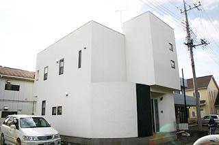 宇都宮市平松本町のシンプルモダン住宅