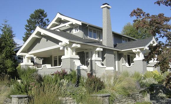 アメリカの経済的な平屋建て小住宅03