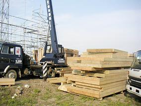 050913 建て方初日(3)