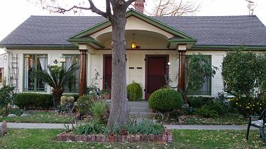 アメリカの経済的な平屋建て小住宅04