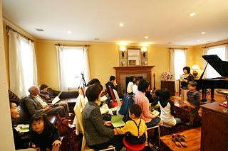 モデルハウスでピアノ発表会01