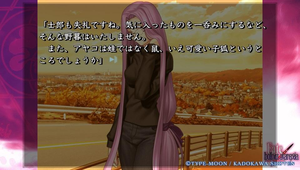 Fateホロウその6 (35)