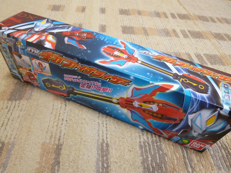 DXギガファイナライザーの箱(giga finaraizer toy)