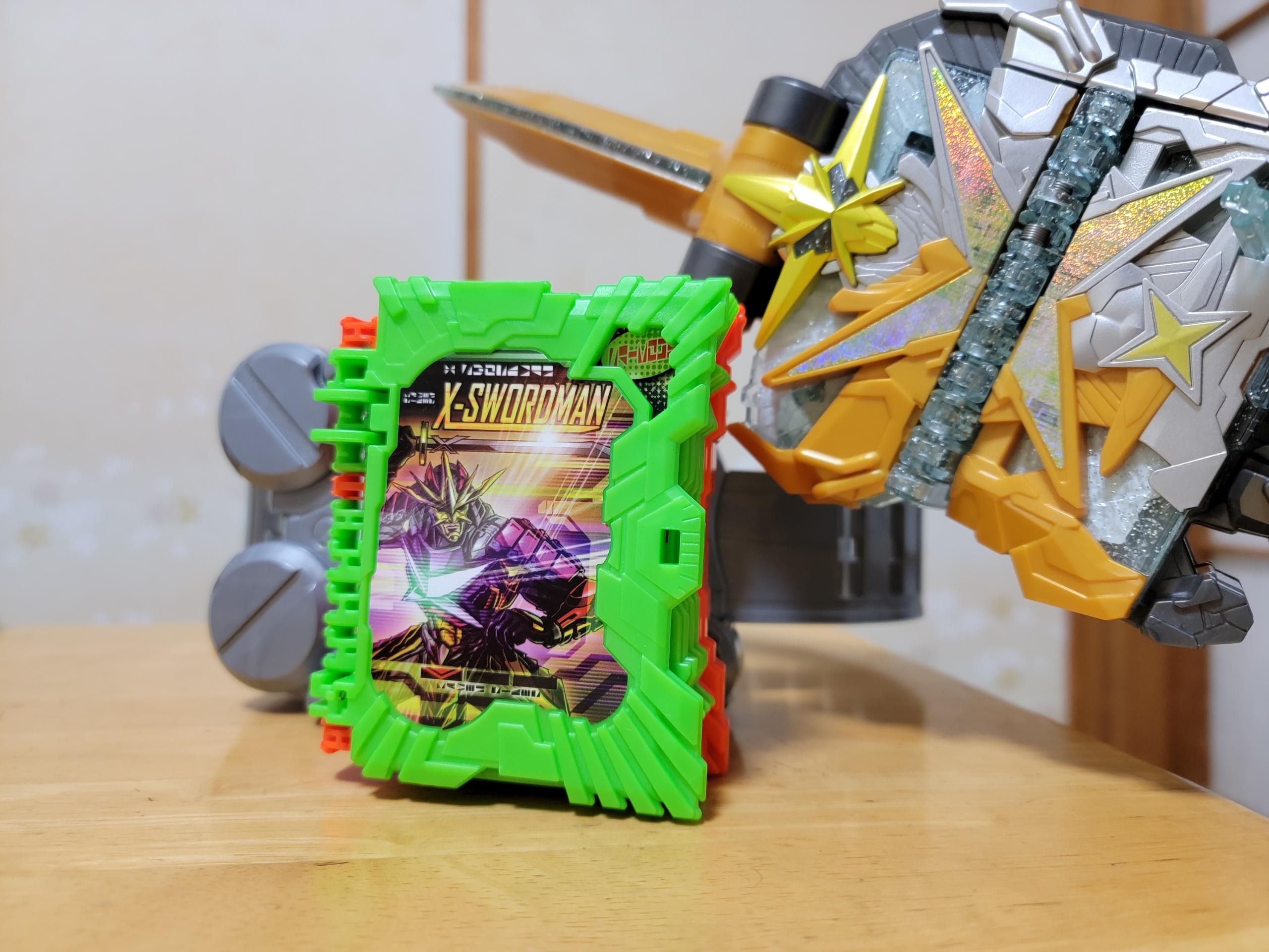 ライダー エックス 仮面 ソードマン 光 最