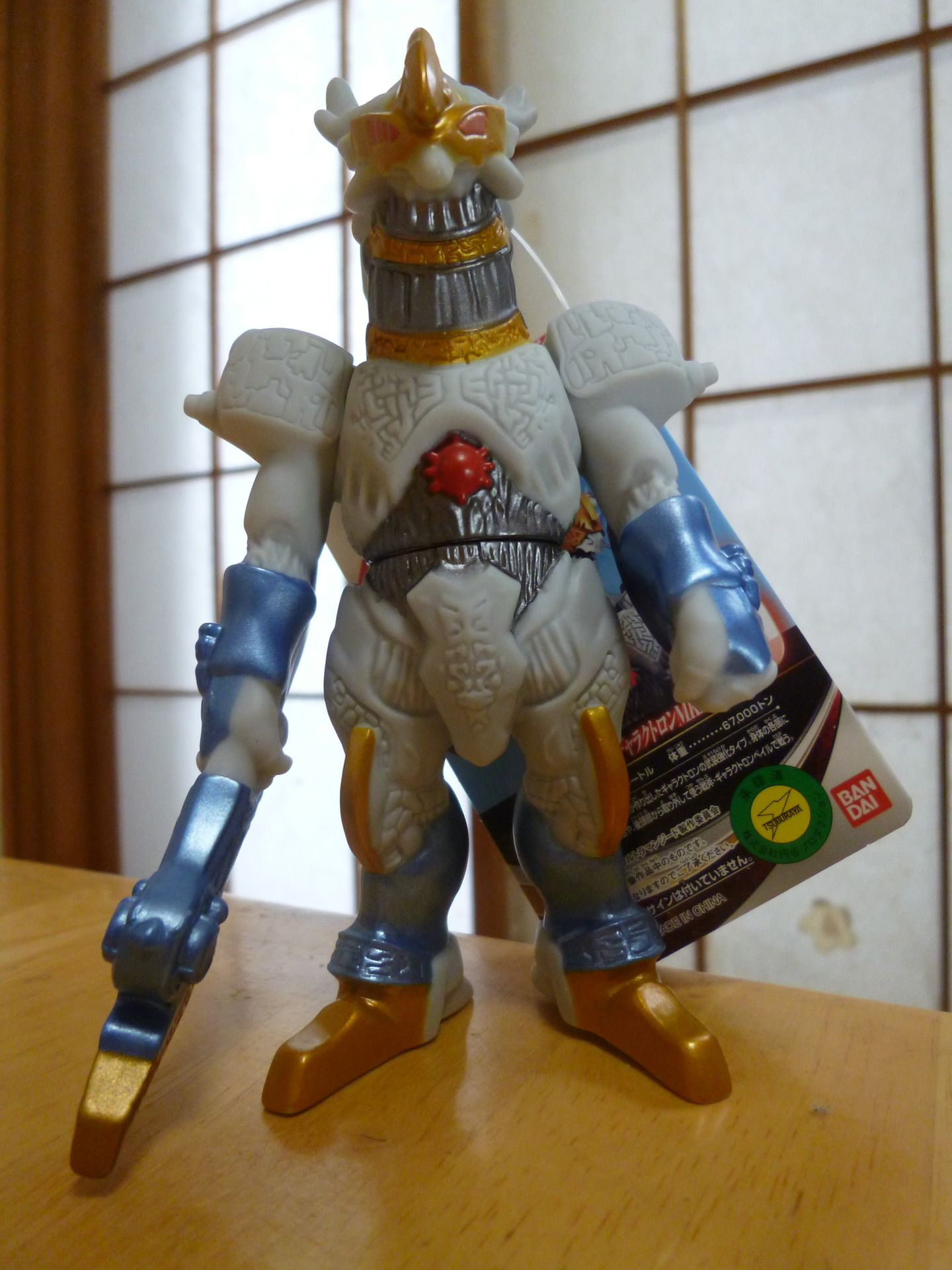 ギャラクトロンmk2のソフビ(galactron mk2 toy)