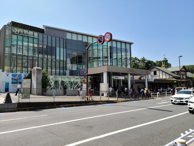 原宿駅の新駅舎