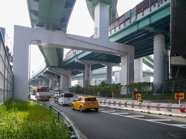 阪神高速 通行止め 2020年11月-4