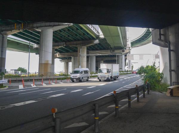 阪神高速 通行止め 2020年11月-5
