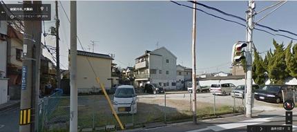 高柳5丁目で建設中のビル