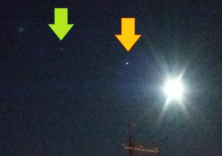 月、木星、土星