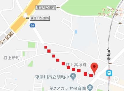 東寝屋川駅前線1