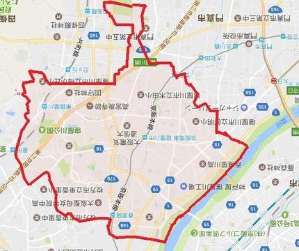 寝屋川市 地図