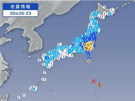 5月30日地震