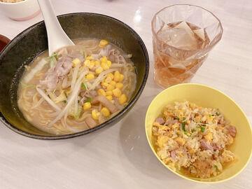 辻希美さん、夕食に味噌ラーメンと半チャーハンを作ってしまう
