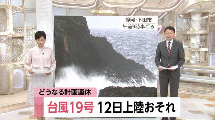 【悲報】台風さん、無事に関東を破壊する予定