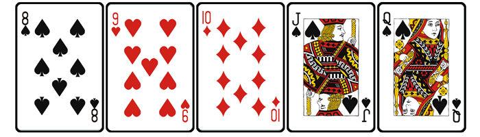 初心者向けポーカー講座 その5(ストレート・フラッシュ) : ポーカロイド