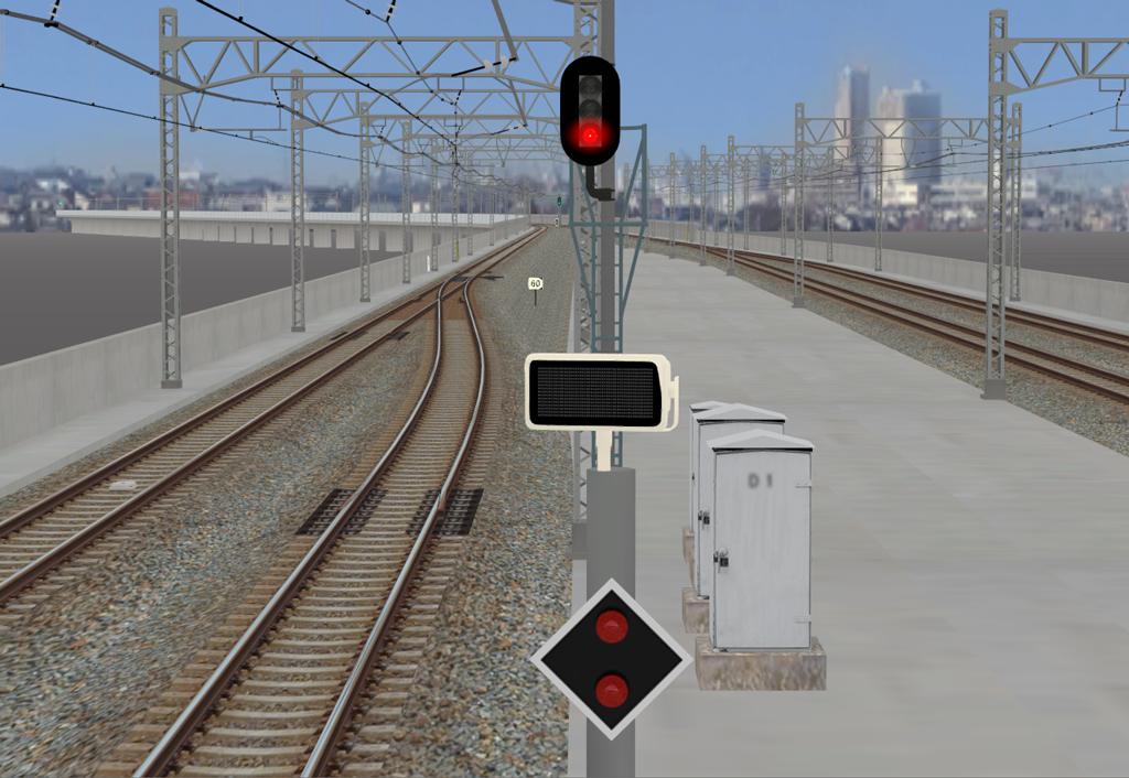 出発時刻表示器 : BVE6 制作blog