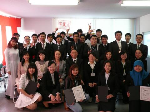 2013年度卒業式