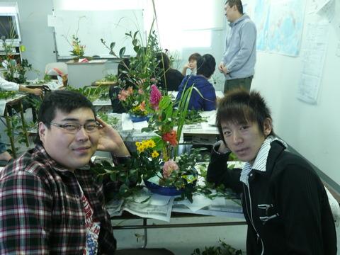 10月23日生け花体験