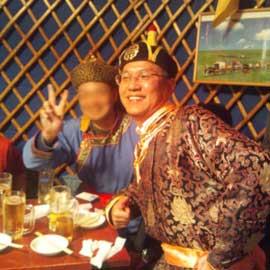モンゴル衣装♪