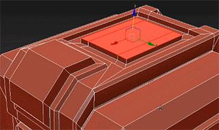 3dsmax2021.1_Interactive Extrusion