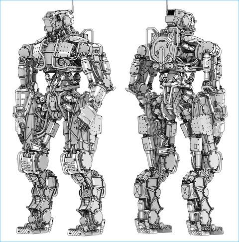 1_Toon-shader_robot