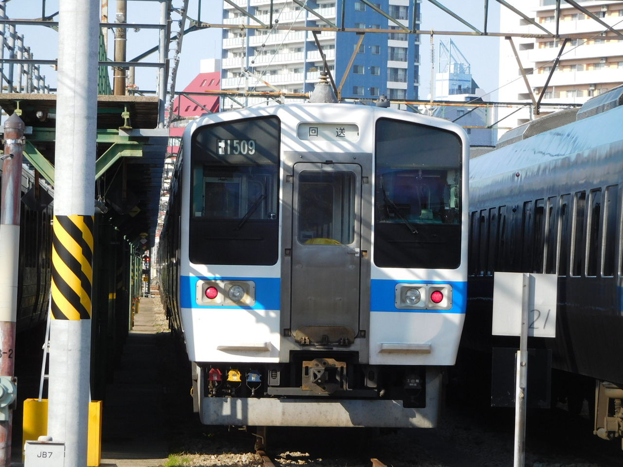 2019/1/27】南福岡電車区で並ぶ最新鋭 : こんで路快速の鉄道ブログ
