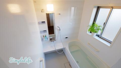 シンプルな考え方でシンプルに暮らす 玄関・トイレ・水周りは念入りに
