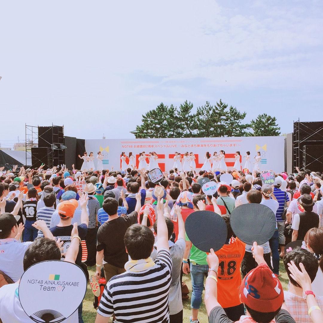 NGT48 お披露目二周年ライブ開催!!セットリストまとめ! 他