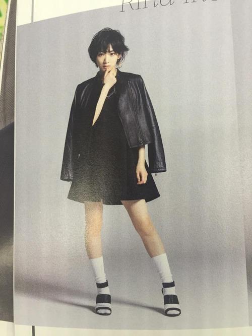 【エンタメ画像】【乃木坂46】FINEBOYSのモードな生駒里奈がかっこいい!