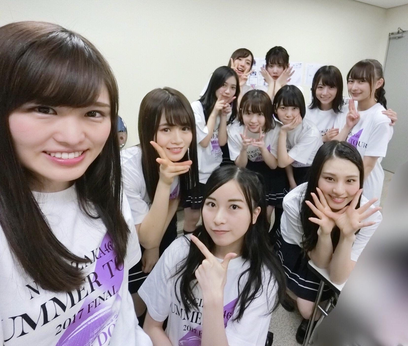 【乃木坂46】東京ドームの2期生楽屋は琴子も皆もいい顔してるなあ