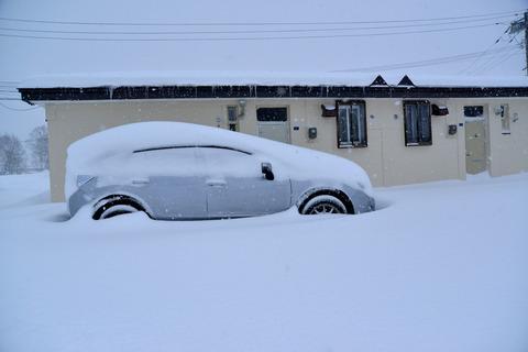宿舎の雪sD8S_4083