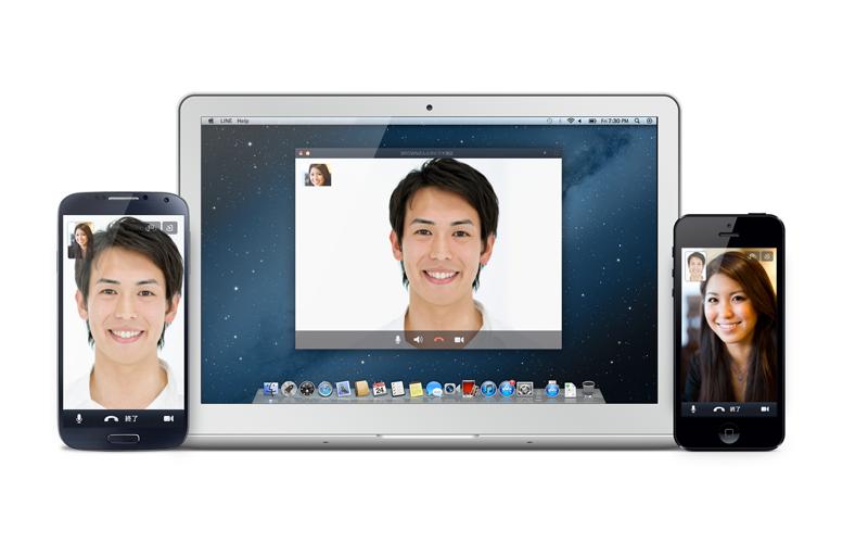パソコン(windows/Mac)版LINEで無料音声通話する …