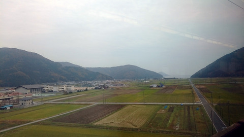 琵琶湖の最北端