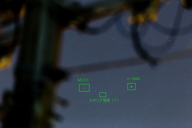 カタリナ彗星(?)