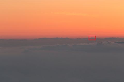 富士山はここ