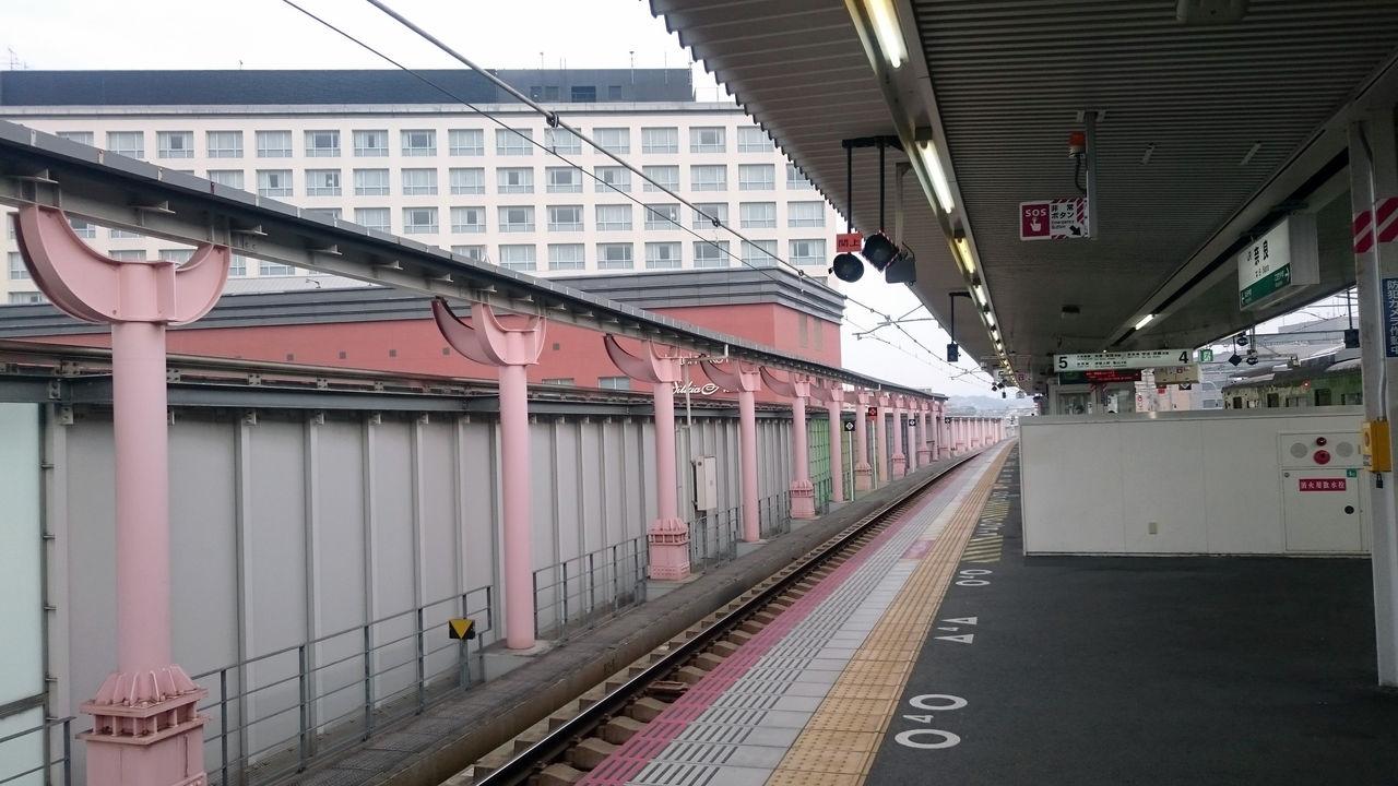 奈良駅で乗り換え