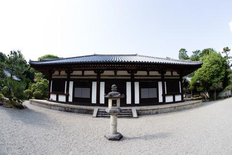 秋篠寺・本堂