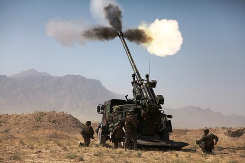CAESAR_firing_in_Afghanistan