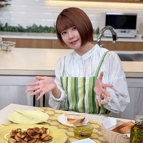 声優の竹達彩奈さん、インスタに手料理アップ