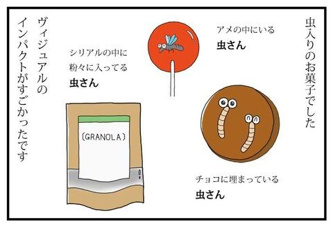 一コマ-虫のお菓子③標準