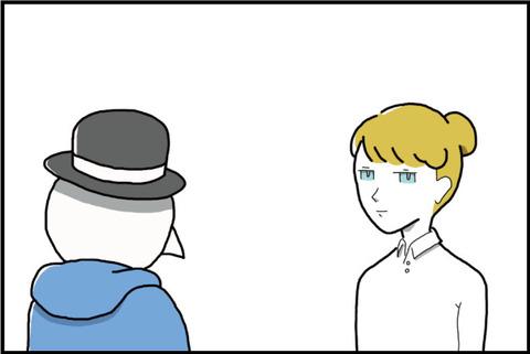 一コマ Ich bin ein Berliner④