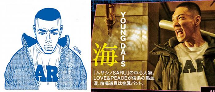 主人公の海(カイ)/YOUNG DAIS
