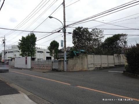 2014083104オーディオテクニカの建屋が解体されていた!@成瀬街道