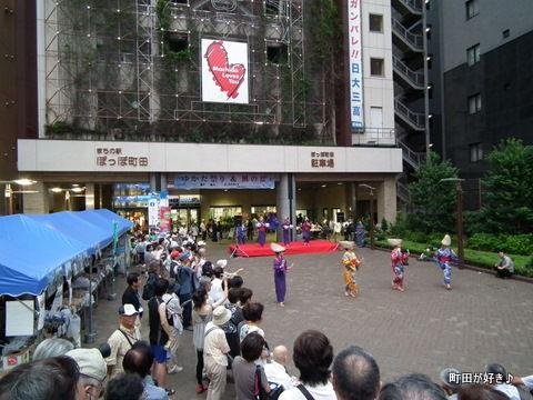 2011080661ゆかた祭り&風の盆@ぽっぽ町田
