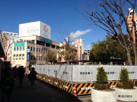 2013012603成瀬駅北口駅前広場公共トイレ設置工事