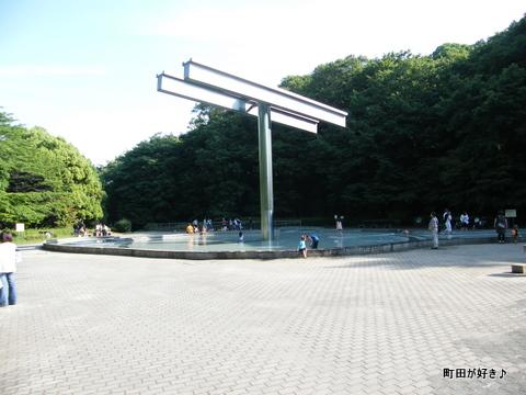 2010060626国際版画美術館前の水辺はみどり