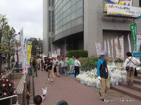 2013100610日曜日の町田市立総合体育館